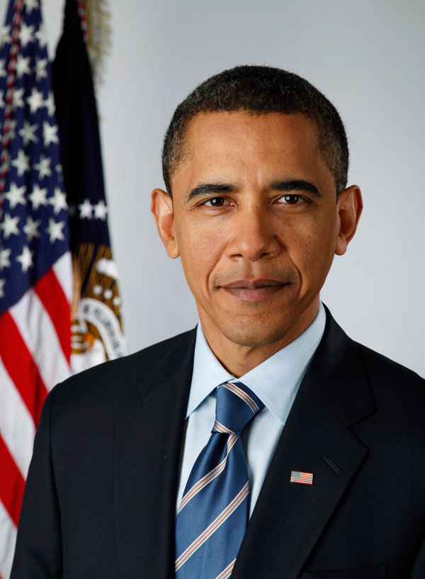 obamasportrait - Barack Obama Official Portrait by Canon