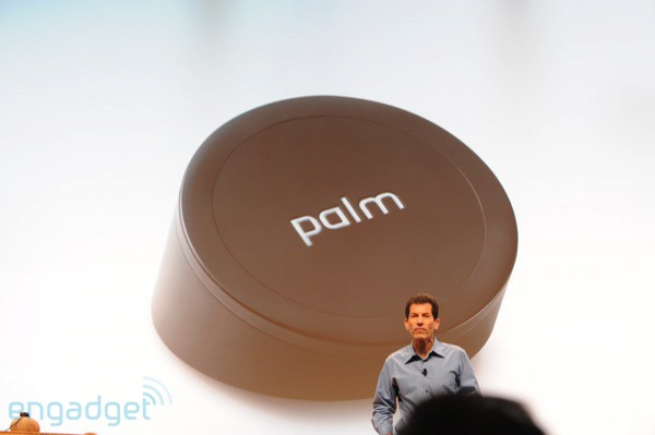 Palm Pre's wireless charger, the Touchstone