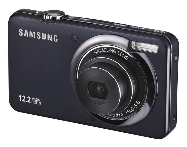 Samsung taking all that complexity out of pointing and shooting with the 12.2 megapixel TL100
