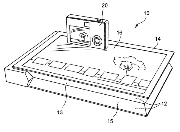 Patent app for touch-screen printer from Sony surfaces