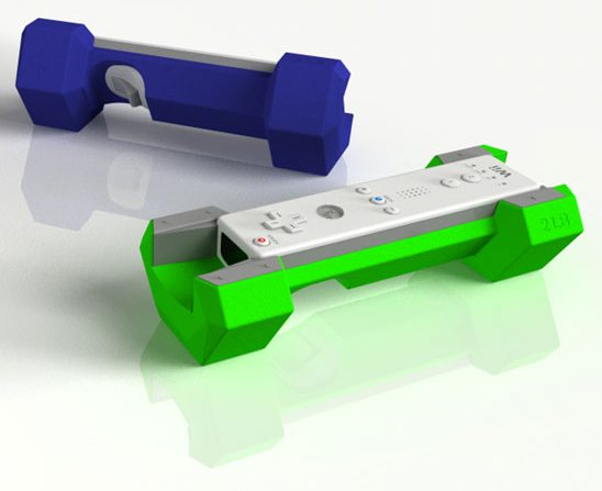 Riiflex Wiimote weights add extra mass, extra momentum