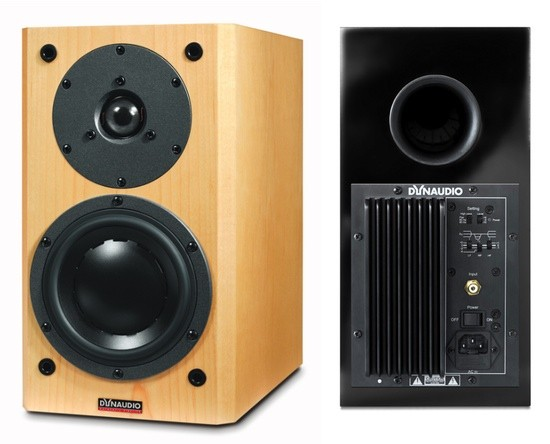 Dynaudio Focus 110 A active speakers