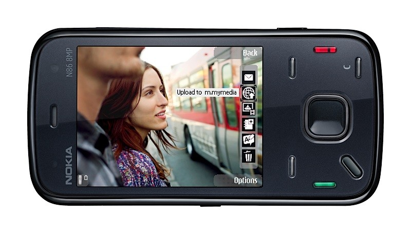 New Nokia N86 with 8 megapixel camera is unveiled
