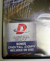 Digital Copy sticker