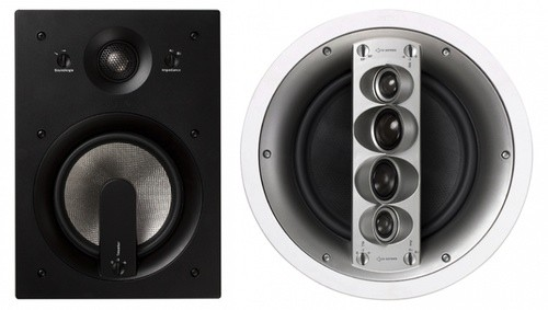 Jamo in-wall 600 series speakers