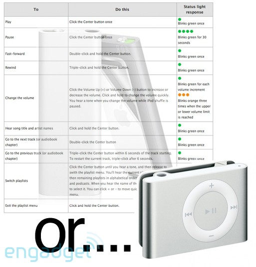 A Better Experience the new ipod shuffle and bad design