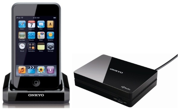 Onkyo U-Port iPod dock, HD Radio tuner