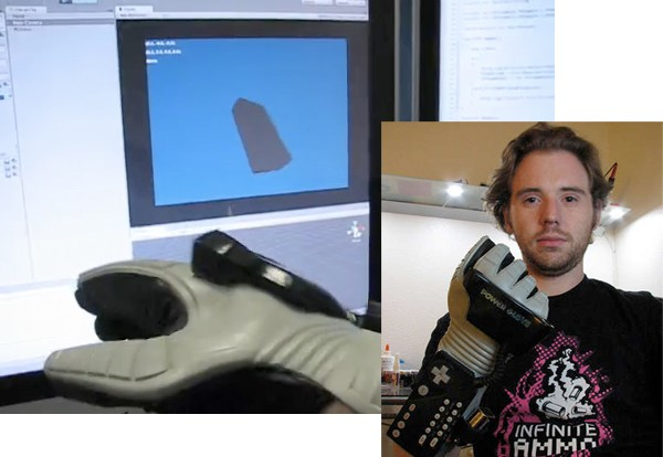 Power Glove granted infinitely more power, bluetooth, and accelerometer in honor of 20th birthday