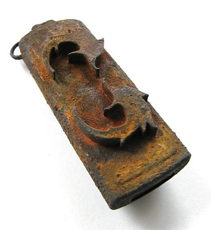 Rusted Steampunk USB Drive offers 4GB of storage, free tetanus infection