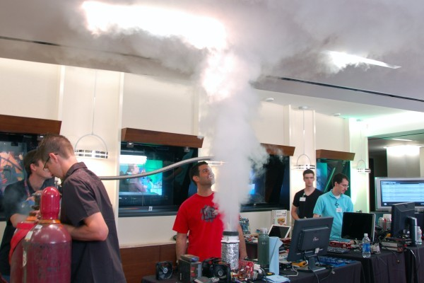 Liquid helium trumps liquid nitrogen at AMD's Phenom II overclocking love-in