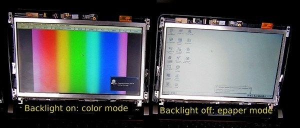 Pixel Qi demonstrates three-mode display set to merge e-ink with LCD