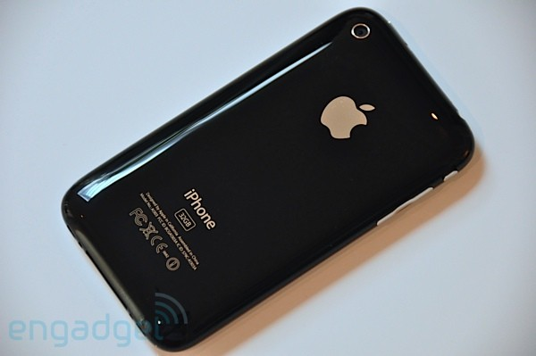 iPhone 3GS back