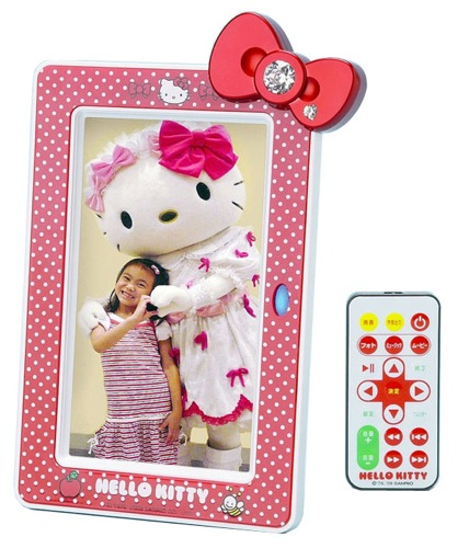 hello kitty digiframe