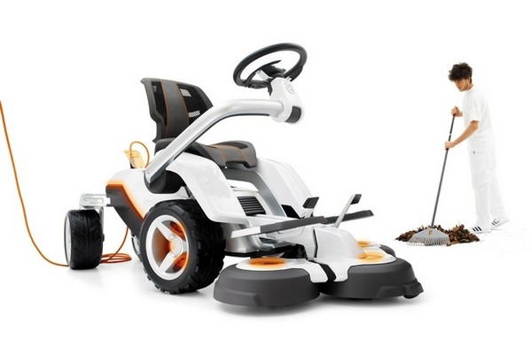 Husqvarna's Panthera Leo is the mower of the future, for your lawn of today