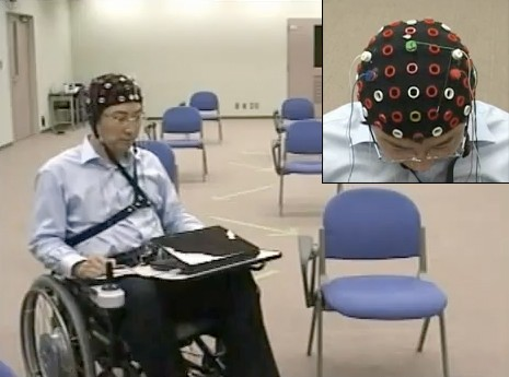 Mind-controlled wheelchairs are becoming all the rage these days, ...