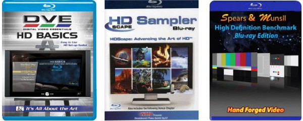 HD Calibration Discs