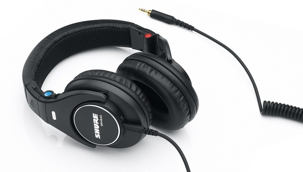Shure introduces three new sets of cans for pros and poseurs