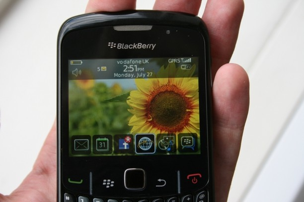 blackberry curve 8520 key pad