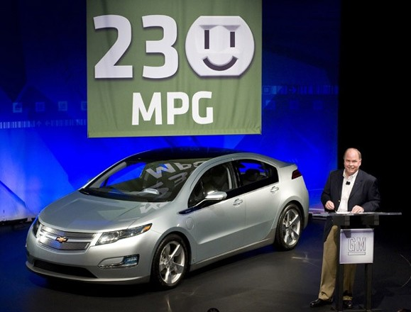 chevy volt nabs unsure 230 MPG