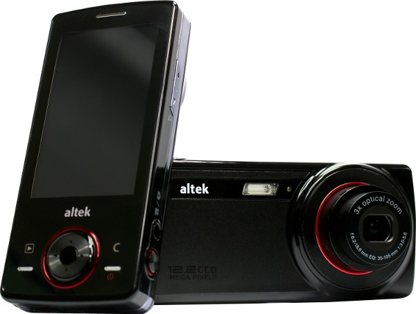 Altek crams a dozen megapixels of wishful thinking into T8680 cameraphone
