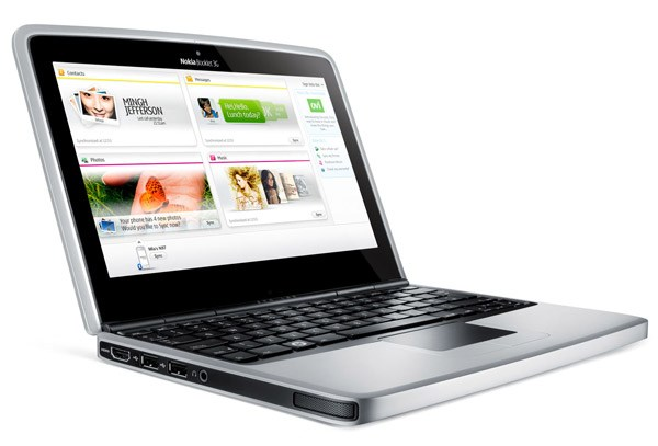Nokia introduces Booklet 3G 'mini laptop'