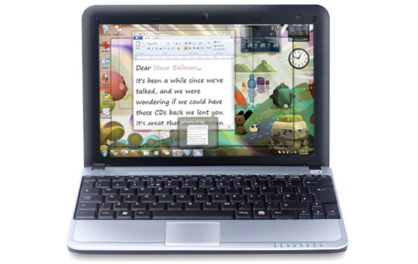 windows 7 netbooks