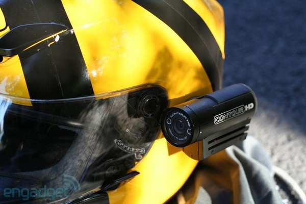 VholdR ContourHD1080p helmet cam announced, we go hands-on