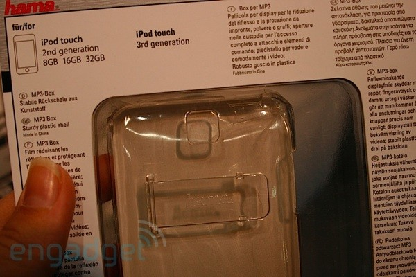 Hama cases foreshadow 5G iPod nano, 3G iPod touch at IFA: hands-on