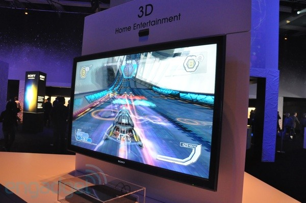 Sony 3D gaming demo