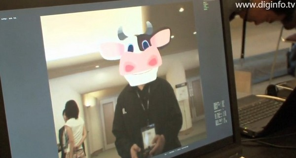 Video: Sony's Vision Library for PlayStation Eye recognizes faces, creates nightmarish human-cow hybrids