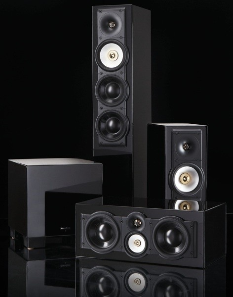Paradigm SE series speakers