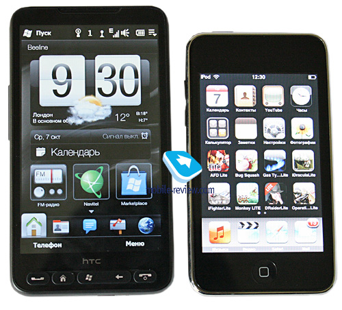 HTC's HD2 gets sized up to the competition Htc_hd2_ipod_touch