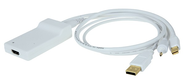 Kanex Mini DisplayPort Adapter will bring your Mac Mini to HDMI town