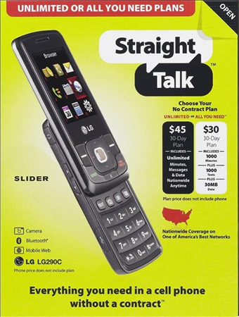 straight talk flyer No contract $30 / $45 Straight Talk wireless plans storm Walmart
