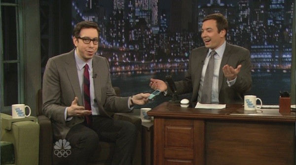 Josh on Late Night with Jimmy Fallon