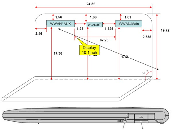 Slinky Lenovo laptop netbook prototype outed by FCC