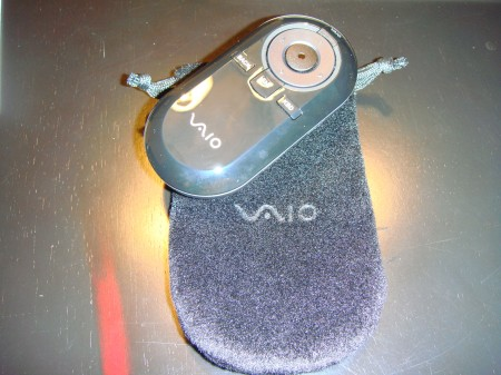 Sony's VAIO Bluetooth Laser Mouse pictured in the wild, almost as ugly as last week's OpenOfficeMouse