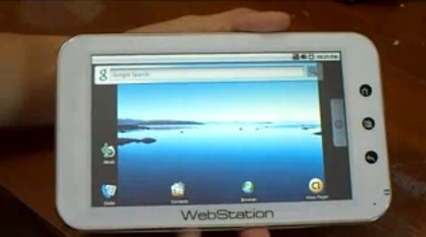 Camangi's WebStation tablet ships soon, sports Android, loves early birds (video)