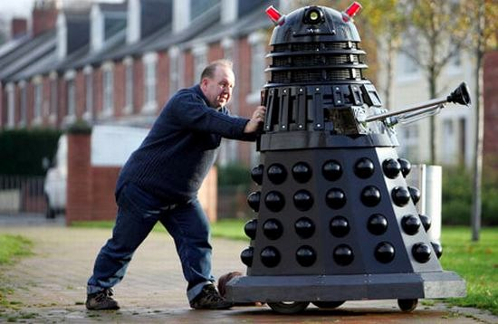 Still, few of them have achieved the scope of the full-sized Dalek that Rob ...