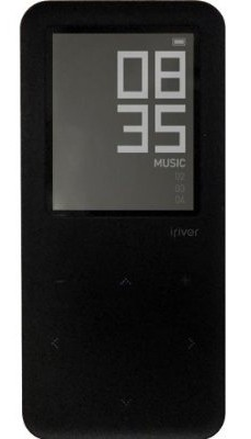 iriver's minimalist styled and eternally batteried E30 player now available