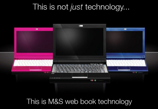 Marks & Spencer exclusive netbook offers lots of hyperbole, little substance