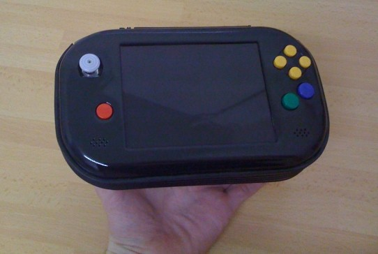 how to build a portable n64