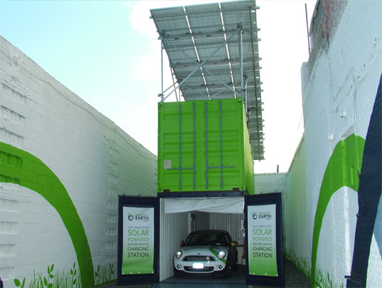New York gets its first solar EV charging station, you can't use it