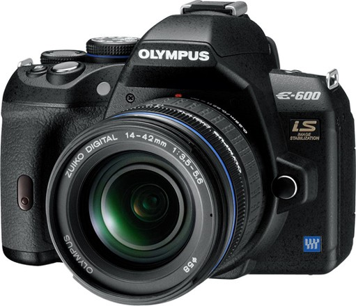 olympus e-600