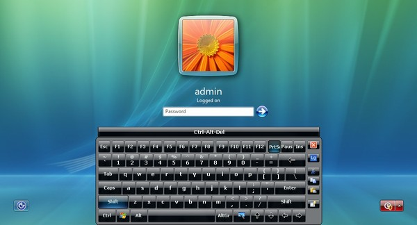 Hot Virtual Keyboard for Windows 7 is hot, virtual, multi-touch