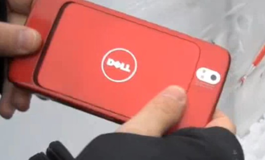 Michael Dell pulls Mini 5 Android tablet from his parka, offers to put one in yours in 'a couple of months'