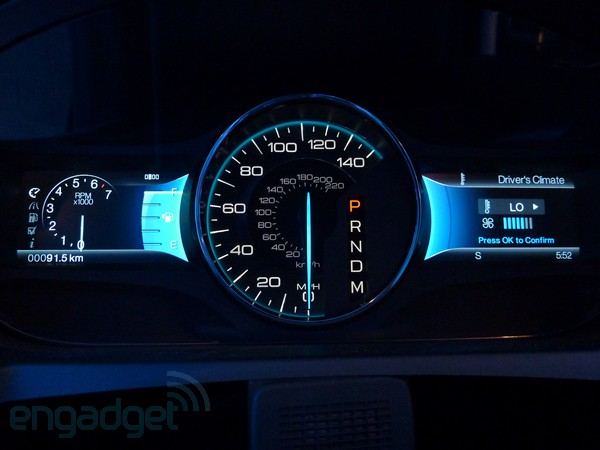 MyFord dash and Sync App Ecosystem make us want a blue oval
