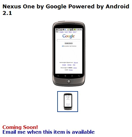 Walmart greeters will soon welcome you to a Nexus One with Sprint, Verizon, and AT&T 3G?