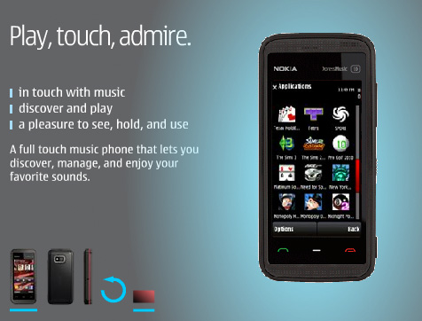 nokia 5530 xpressmusic games edition goes on sale in us puts the hurt
