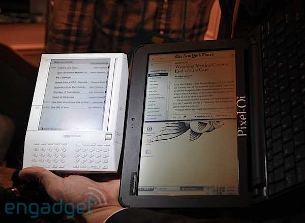 CES 2010 Nuggets: Amazon Kindle has lots of Competition++